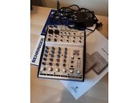 Behringer UB802 Mixing Desk, with retail box and instructions (+48V Phantom Power)