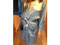 New 100% silk robe (obo)