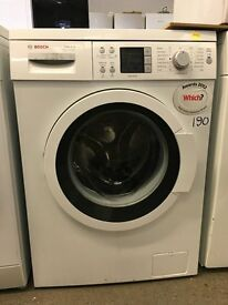 Bosch WAQ28461GB Exxcel VarioPerfect 8kg Freestanding Washing Machine White
