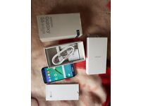 samsung galaxy s6 edge 32GB Black Saphire -Unlocked- immaculate condition with box