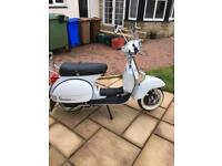 2008 Vespa 125 px 30th anniversary limited edition as new!!