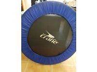 Trampette / fitness trampoline.