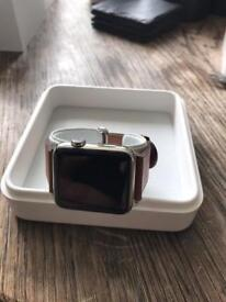 Stainless Steel Series 1 Apple Watch bundle