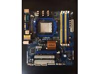 ASROCK n68c-s ucc motherboard AM2+/AM3