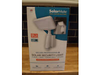 solar powered security light.