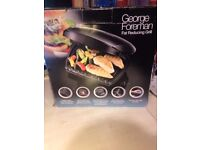 George Foreman Grill ~ Family 5 Portion Grill (Hardly Used With No Faults)
