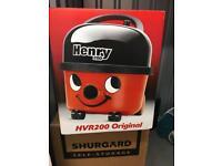 Henry HVR200 hoover Original Brand Spanking New