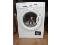 latest hotpoint washing machine in as new condition little used,new built in kitchen forces sale.