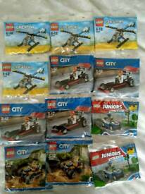 Brand new Lego creator, city, juniors polybag