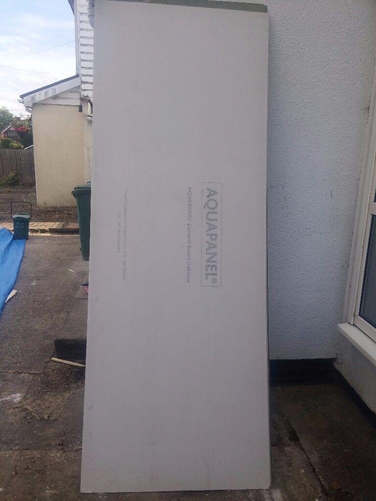 knauf aquapanel exterior x 900mm x 2400mm x 1 panel in cobham surrey gumtree. Black Bedroom Furniture Sets. Home Design Ideas
