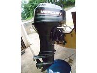 mercury 30 hp outboard engine