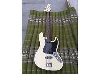 Fender Aerodyne jazz bass w/Bareknuckle Pickups