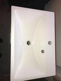 Bathroom vanity unit c/w sink