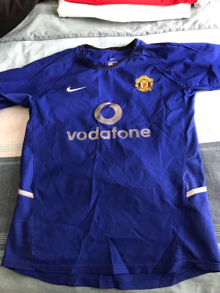 brand new 907fa 46ba2 Manchester United away kit 2002-2003 | in Port Talbot, Neath Port Talbot |  Gumtree