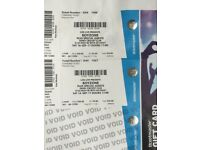 Boyzone tickets - 2x platinum standing for 16th September in Derby (worth £110)