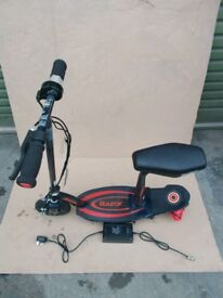 Electric scooter Razor core e100 with seat red