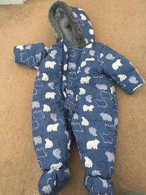 Rompers and Jacket 6-12 months GAP NUTMEG
