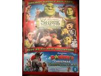 shrek holiday double dvd