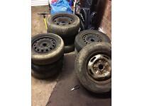Job lot steel wheels,14,15 inch scrap metal, spares repair