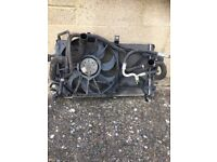 Astra h 2008 1.6 radiator pack with aircon works perfect 07594145438