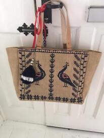 Ladies Bag (Hessian Shopper)
