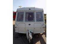 1996 : Buccaneer Elan 15/2 : Touring Caravan : In Excerllant Condition For Year