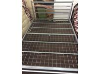 King sizeBed frame metal £30