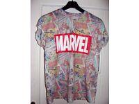 Ladies Marvel T-shirt, Size 14