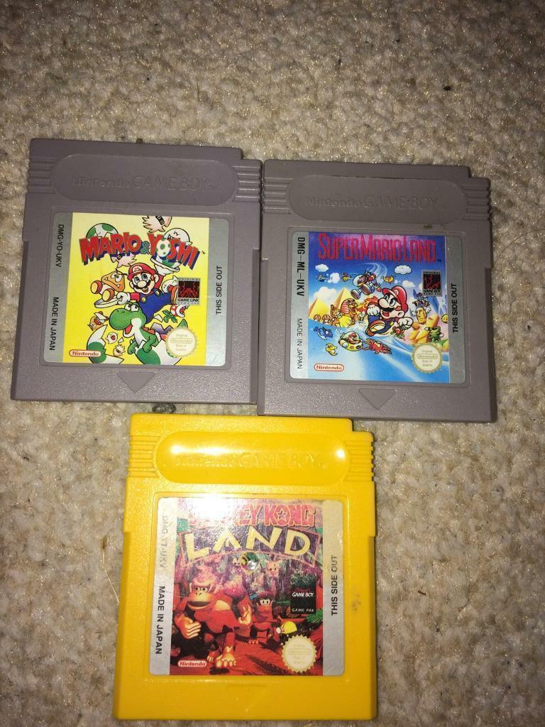 Mario and donkey Kong Nintendo gamesin Huddersfield, West YorkshireGumtree - Marios £8 each donkey Kong £6 can post out for additional costs