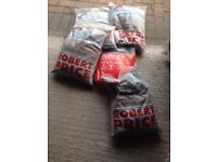 1 bag of cement + 4 bags of building sand all unopened pick up chepstow