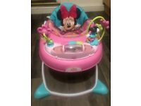 Minnie Mouse baby walker like new