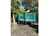 For Sale - 13 ft Trampoline with net enclosure
