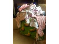 Massive bundle of baby girls 0-3 months clothes