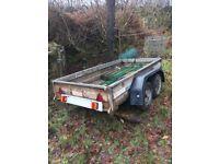 Wessex 8x4 twin axle trailer