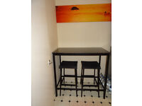Ikea garpen Bar table with 3 chairs