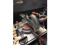 Compound Sliding Mitre Saw