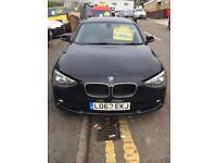 BMW 116D Efficient Dynamics Black 2012/62 Reg 3 Month Warranty Zero Road Tax Finance Available £7999