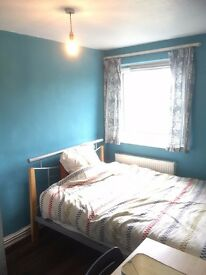 BRIGHT DOUBLE ROOM! within a spacious 4 bed apartment with access to a shared living room.