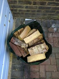 Large Bag of Firewood - About 5 Bags From B&Q