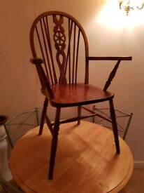 Ercol Style Carver Chair.