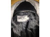 Mens grey wool jacket