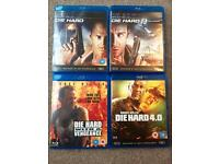 Die Hard Blu-Ray DVD Collection
