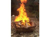 Free fire wood .