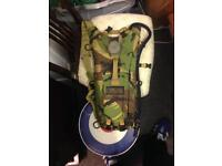 Camelbak hiking camping camo water hydration pack back container bottle