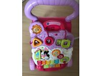 Vtech push along babywalker