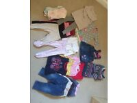 12 - 18 month girls winter / autumn clothes bundle