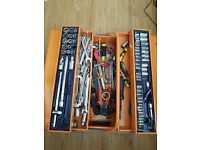 Fully Loaded Tool Box, over 100 pieces