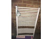Bathroom radiator towel rail, cost £75 new, barely used
