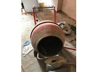 B&Q concrete mixer for sale
