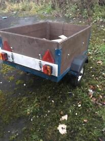 4x3 box trailer